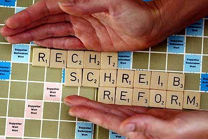 Zankapfel Rechtschreibreform: Gerangel ohne Punkt und Komma