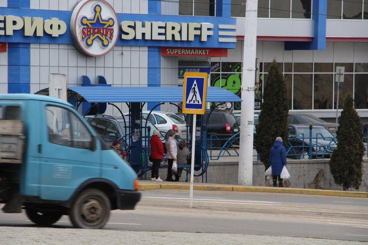 Supermarkt im zu Moldau gehörenden Transnistrien