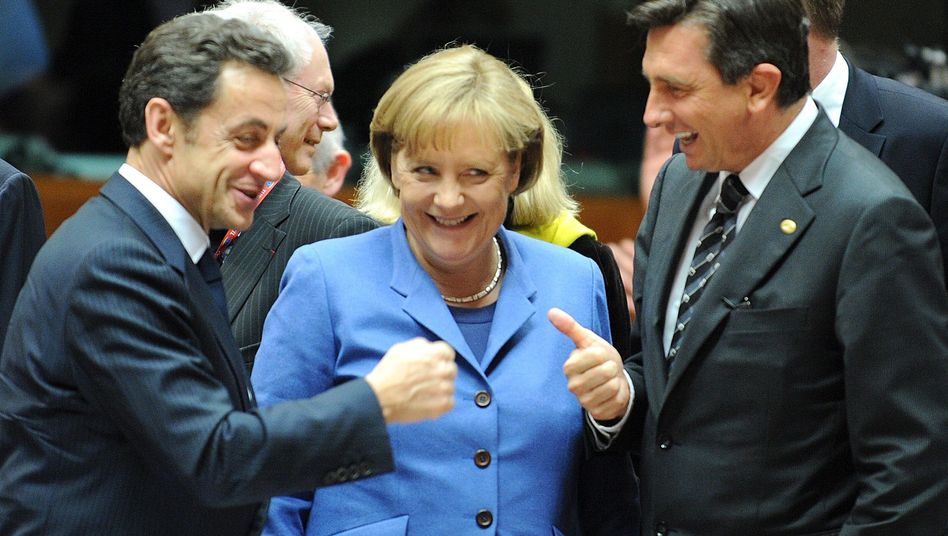 German Chancellor Angela Merkel managed to bring the rest of the European Union around to her position on Thursday.