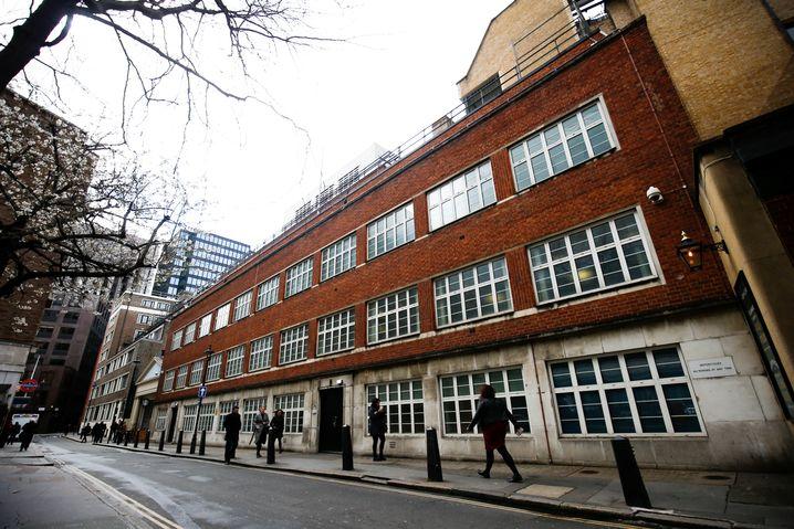 Gebäude in der Palmer Street