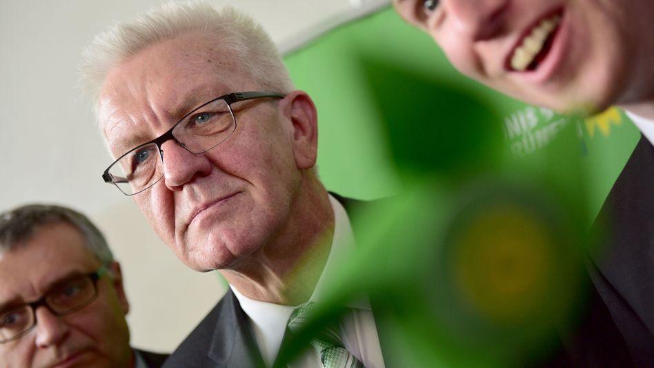 Grünen-Promi Kretschmann: Geldspritze für die heiße Wahlkampfphase