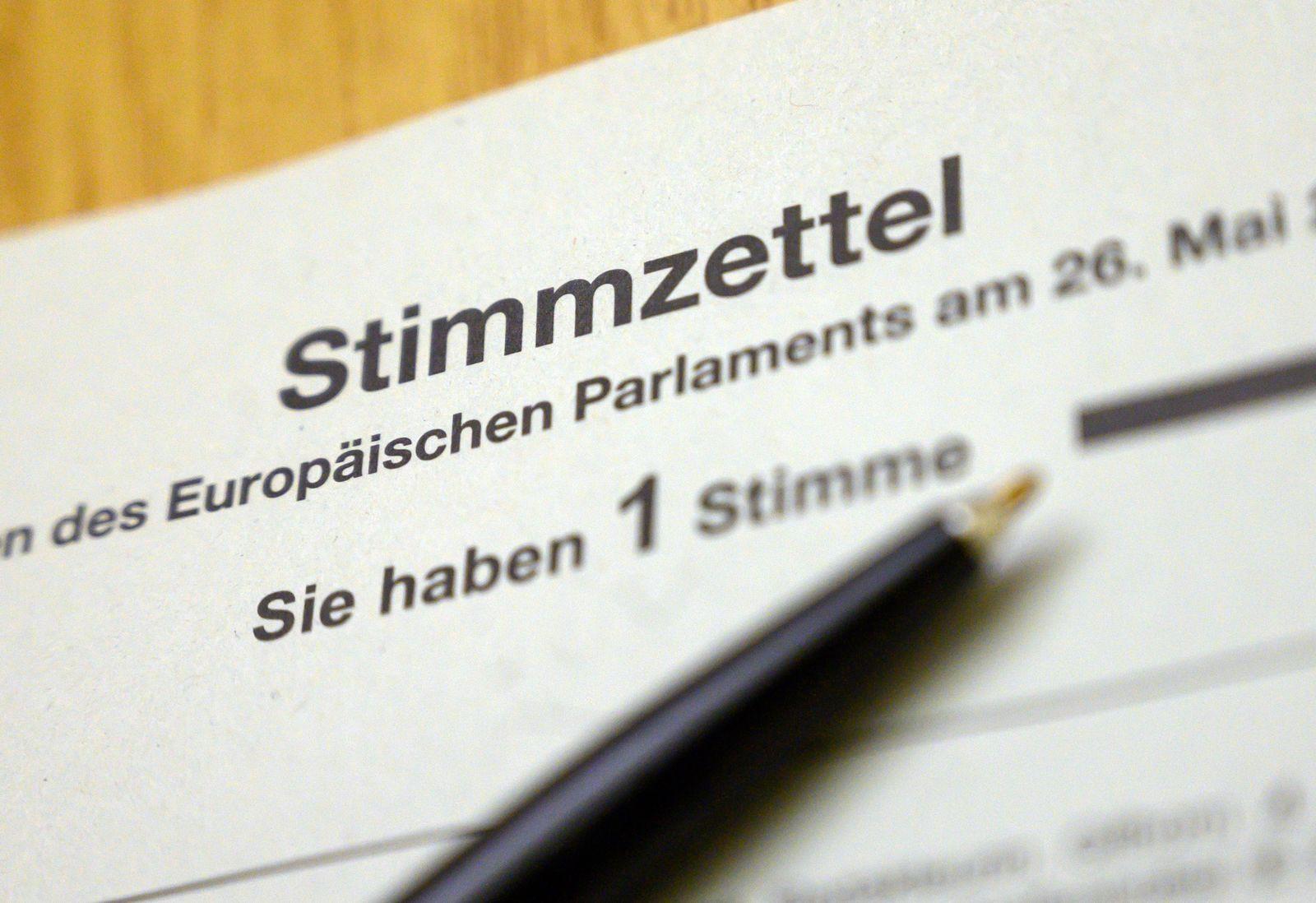 Briefwahl zur Europawahl in Hannover