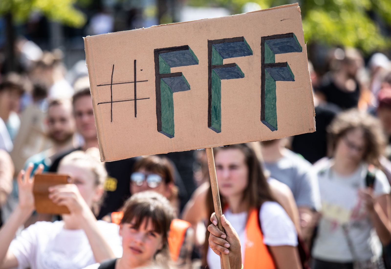 Fridays for Future protest in Berlin