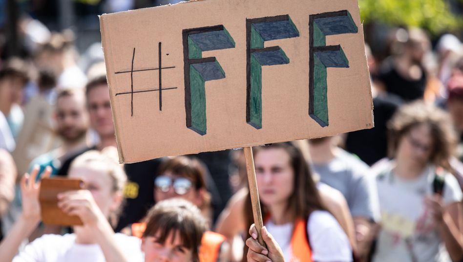 Fridays-for-Future-Protest in Berlin, 9. August 2019