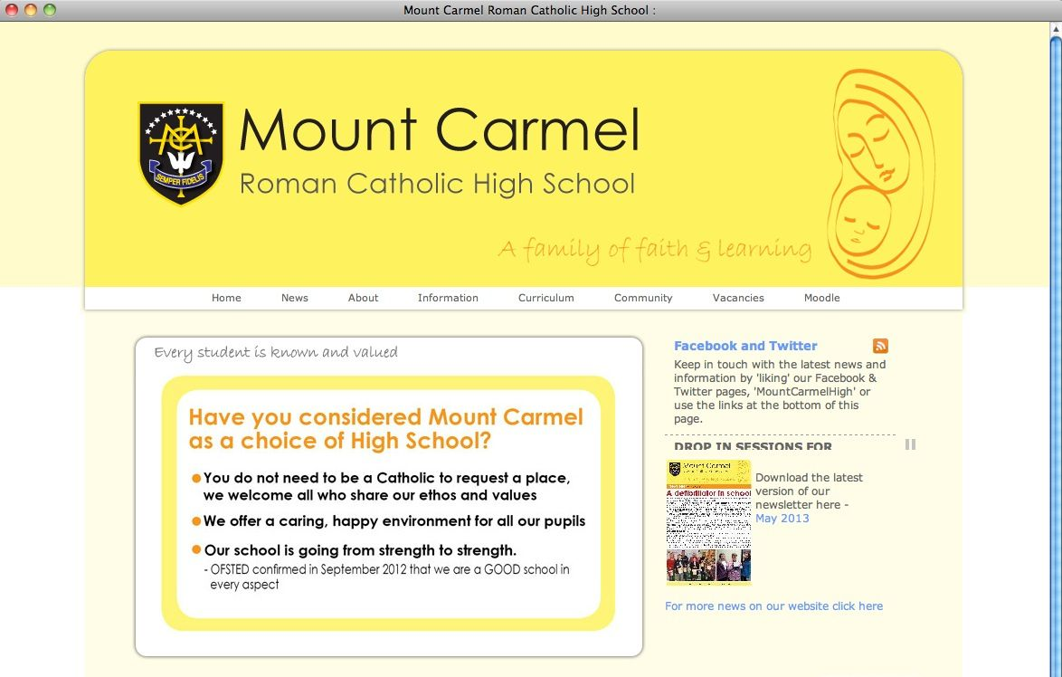EINMALIGE VERWENDUNG Screenshot / Mount Carmelhigh
