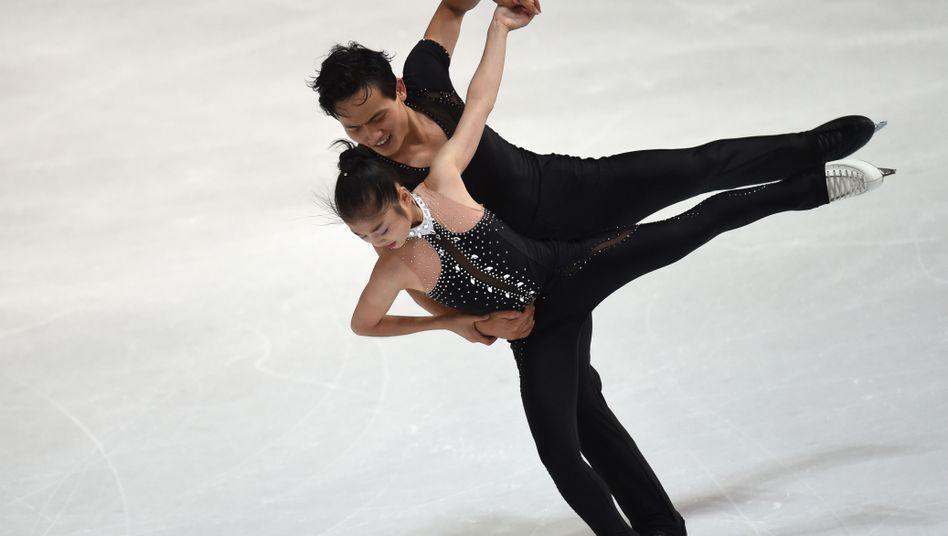 Ryom Tae-Ok und Kim Ju-Sik