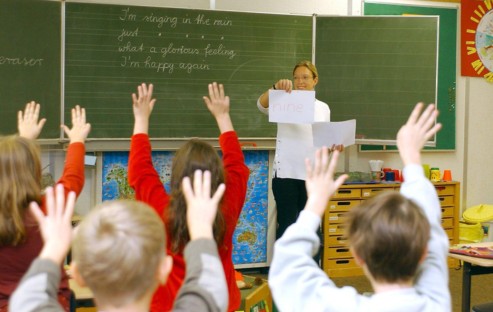 Englisch-Unterricht / Grundschule