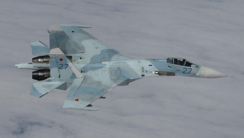 Russischer Su-27 Kampfjet