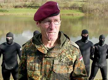 Vorlauter Krieger: Rainhard Günzel, Ex-Kommandeur der Elite-Truppe KSK