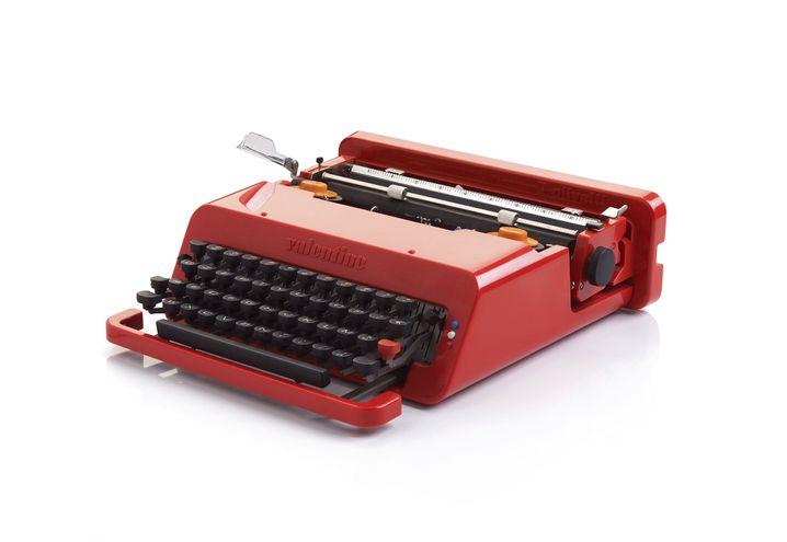 Eigentlich als Massenprodukt gedacht: Ettore Sottsass wohl berühmtestes Design, die Olivetti-Schreibmaschine Valentine