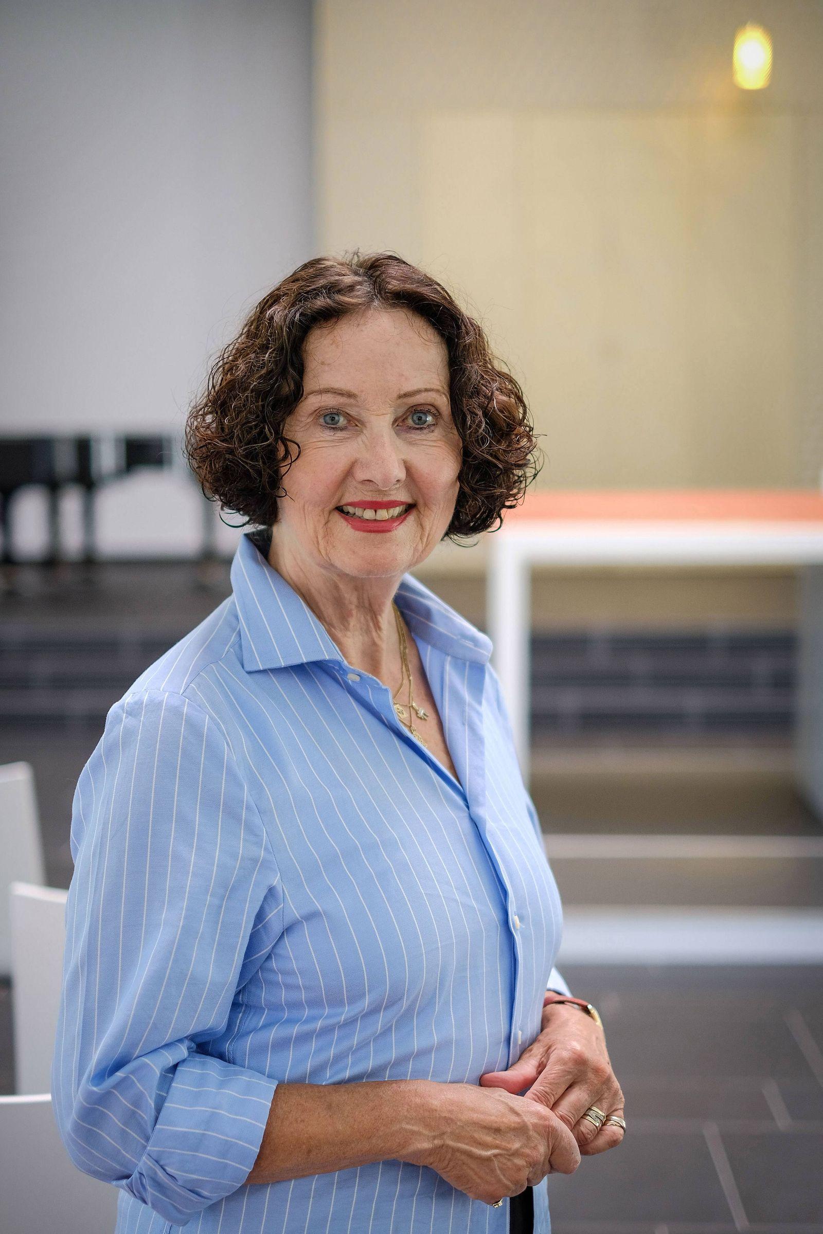 Ingrid Wettberg Vorsitzende der Liberalen Juedischen Gemeinde Hannover am 29 06 2018 in der Synago