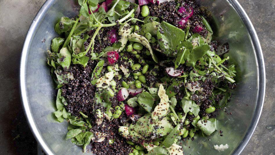 Ottolenghis Rezept: Quinoa-Salat mit Avocado, Zitrone und Edamame-Bohnen
