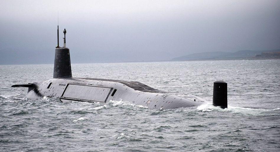 Britisches Atom-U-Boot vor Schottland »Büchse der Pandora«