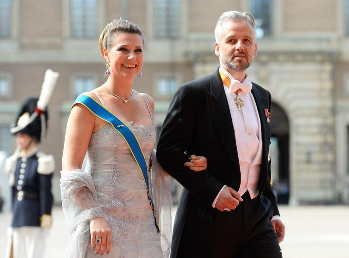 """Märtha Louise und Ari Behn im Jahr 2015: """"Große Traurigkeit"""""""
