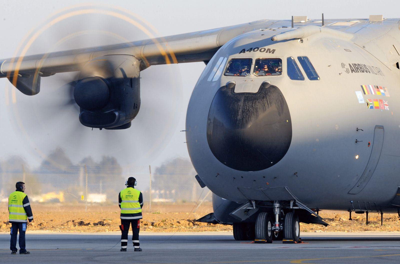 Airbus A400M/ Erstflug