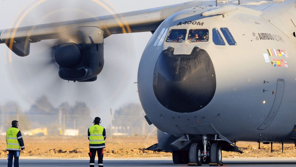 The Airbus military transport plane A400M took off for its maiden voyage last month in Seville, Spain. But its future remains in doubt.