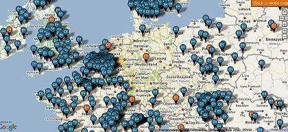 Anmeldungen zur Earth Hour, Stand 24.3.2009, 13 Uhr: Im angeblichen Öko-Vorreiterland Deutschland findet die Aktion kaum Interesse. Während die anderen gedankenlos Zeichen setzen, läuft hier die Grundsatzdiskussion, die aber auch kaum einer bemerkt