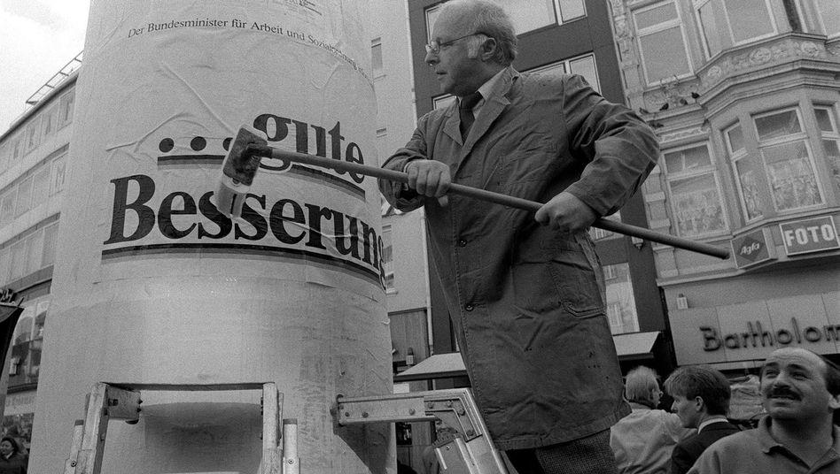 """Renten-Lobbyist Blüm 1988: System """"erledigt sich von selbst"""""""