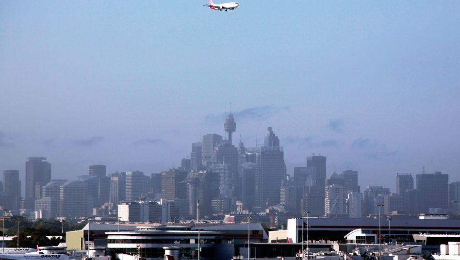 Flugzeug über Sydney (Archivbild)