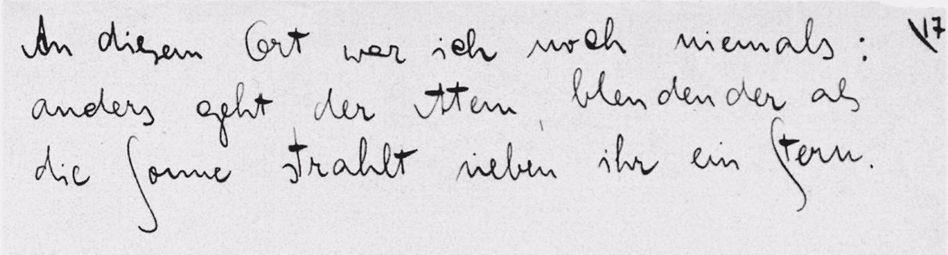 Kafka-Zettel Nr. 17