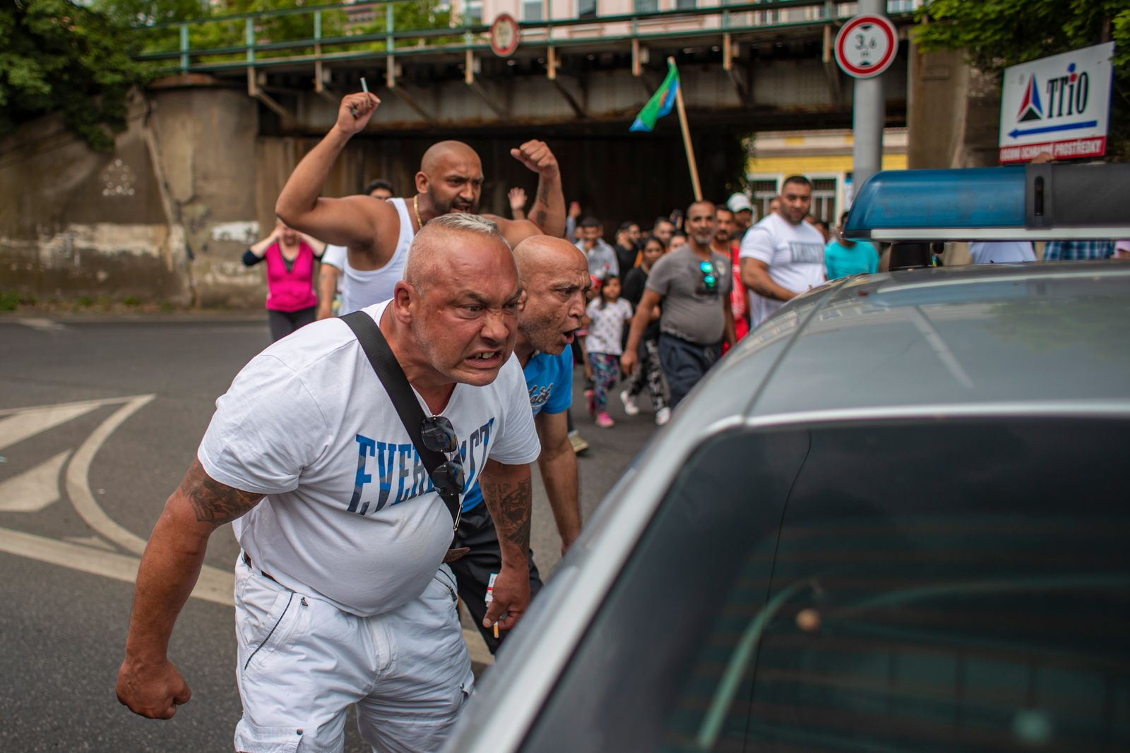Protest against death of Roma man who died after police arrest in Czech Republic