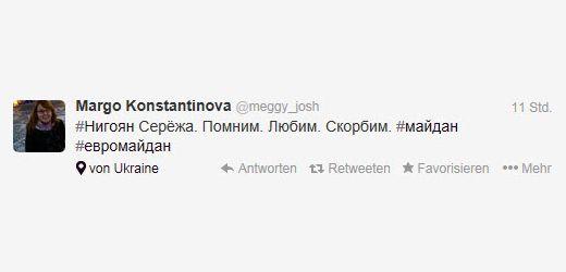 Margo Konstantinova auf Twitter