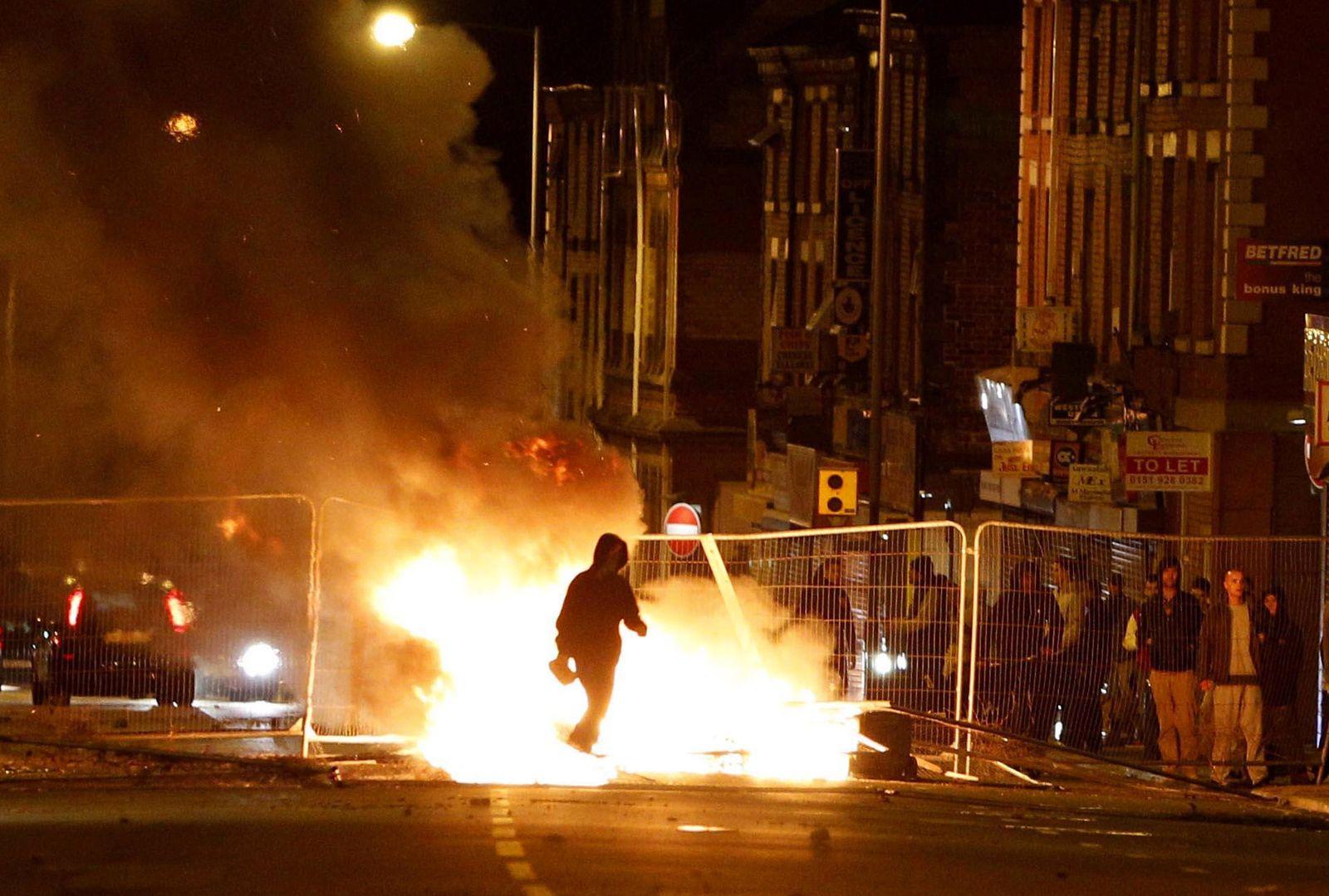 Riots Liverpool