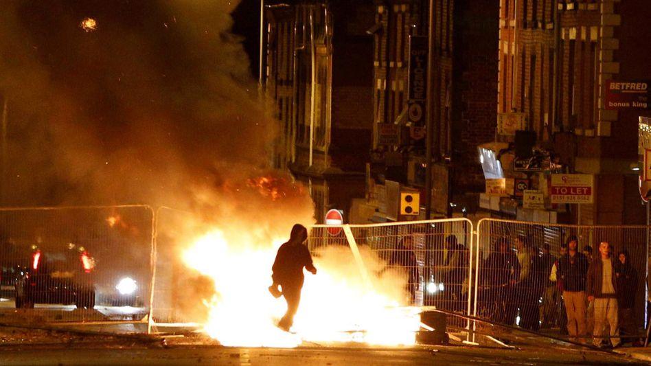 """Krawalle in Liverpool (in der Nacht zu Mittwoch): """"Eine bittere Wendung"""""""