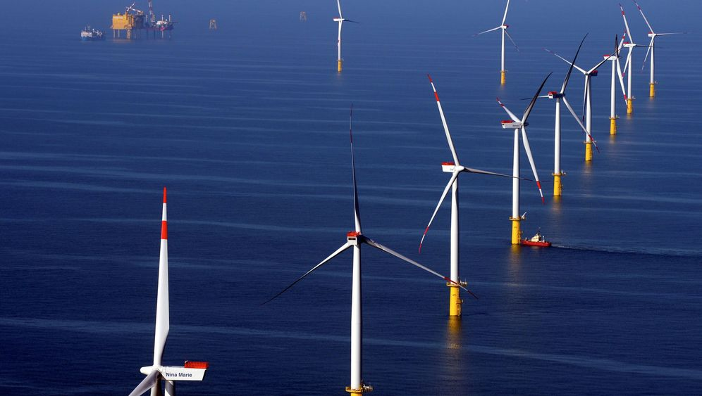 Offshore-Anlagen vor Helgoland: Mega-Windpark im Meer