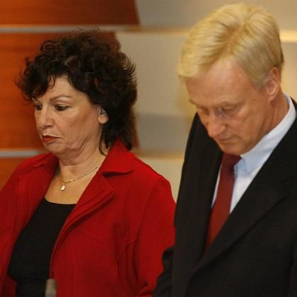 Christa Götsch und Ole von Beust am Wahlabend in Hamburg: Bildungsbürgerlicher Elitismus