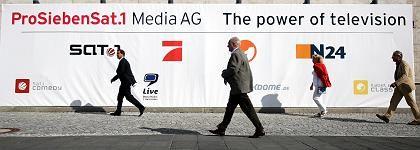 ProSiebenSat.1-Hauptversammlung in München (August): Die Pläne für den Sender sind langfristiger Natur - die Mitarbeiter sorgen sich trotzdem
