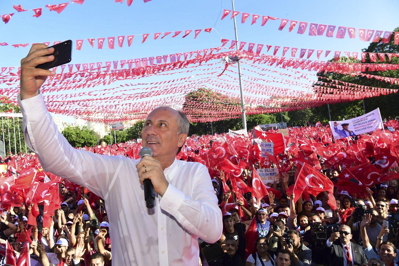 Türkei/ Wahlen 2018/ Muharrem Ince/ CHP