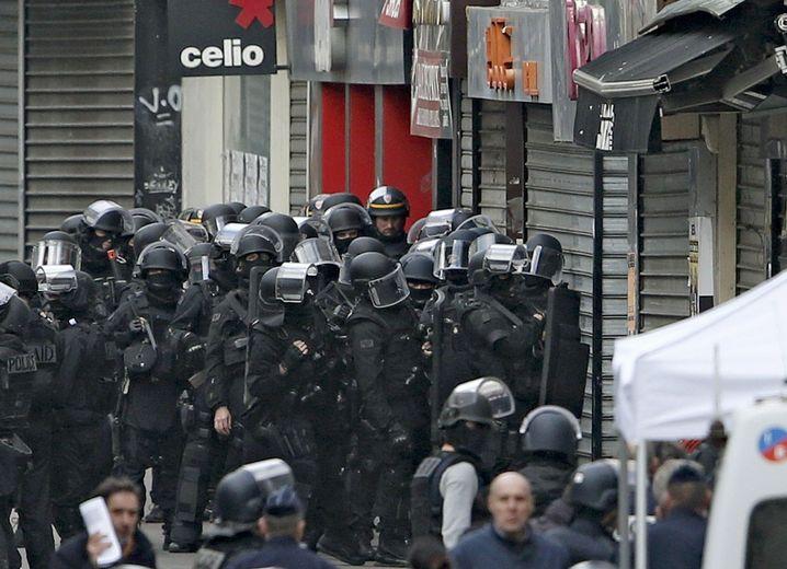 Anti-Terroreinsatz in Saint-Denis