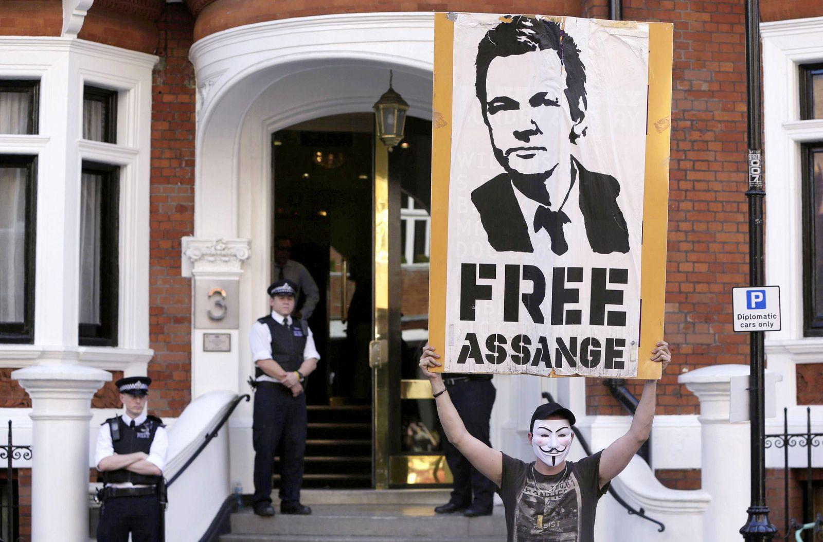 Julien Assange / Botschaft London