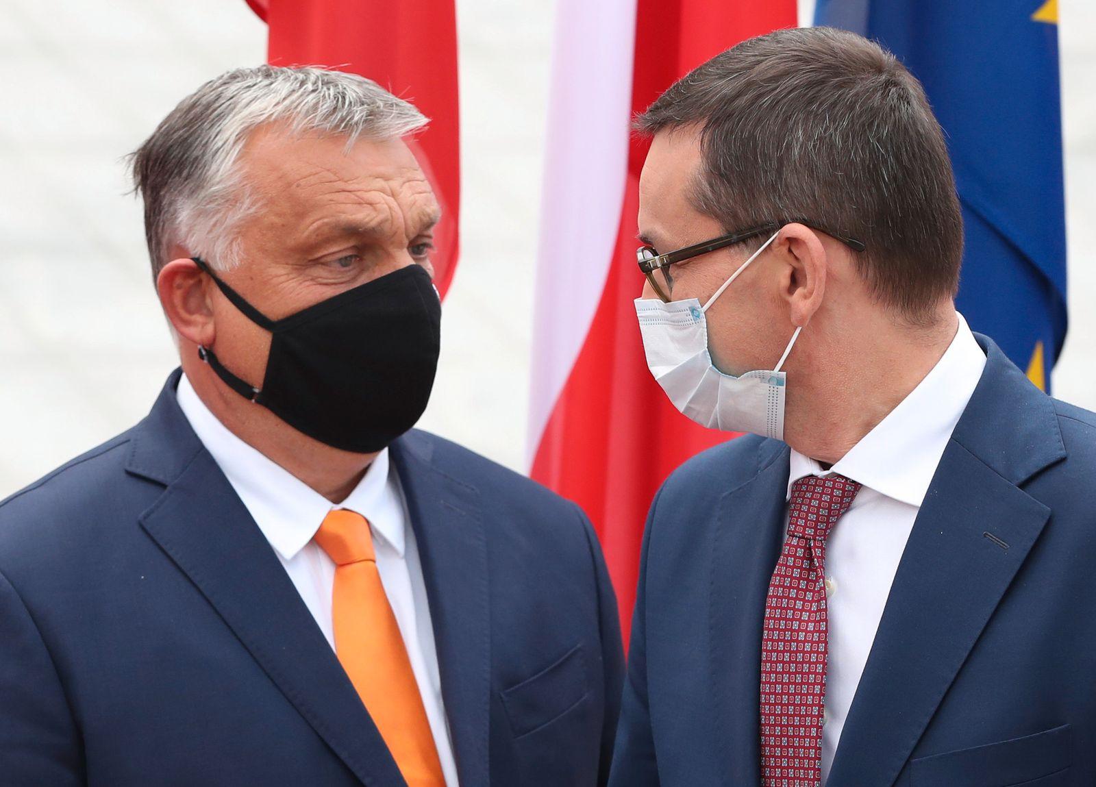 EU ringt um Finanzpaket - Morawiecki - Orban