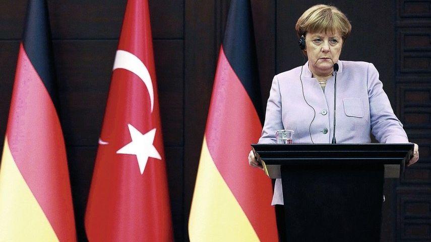 Kanzlerin Merkel in Ankara