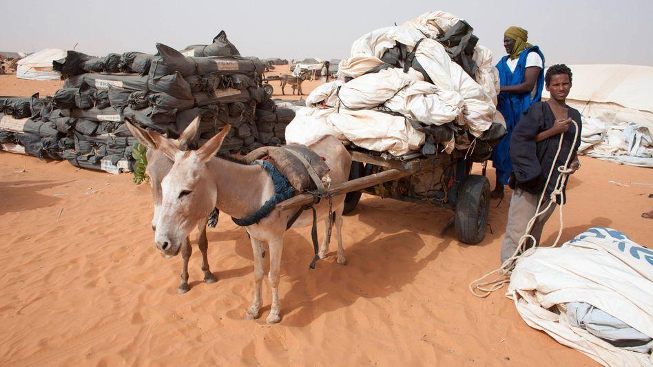 Flüchtlinge aus Nord-Mali in Mauretanien: Mehr als 300.000 sind auf der Flucht