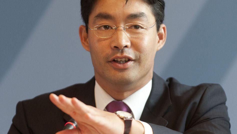 FDP-Chef Rösler: Warnende Worte an den Koalitionspartner