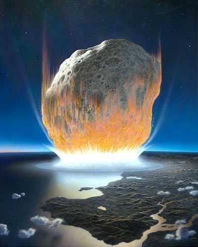 """Meteoriteneinschlag: """"Eine Million Mal vernichtender als das stärkste Erdbeben im letzten Jahrhundert"""""""