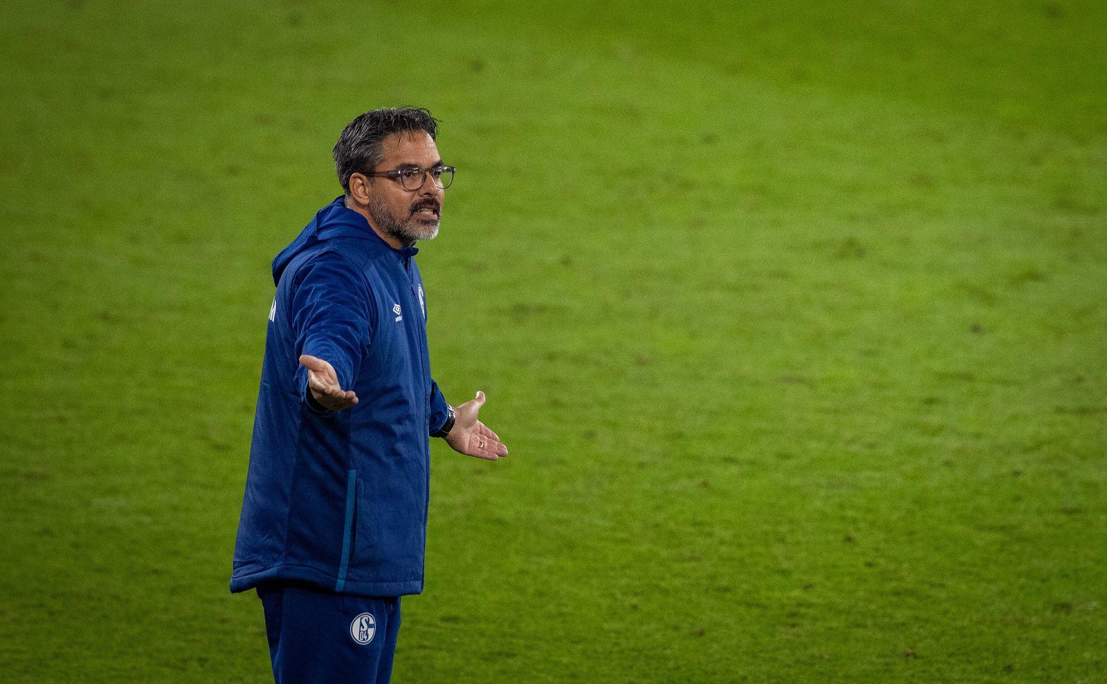 Trainer David Wagner (S04) Schalke 04 - Werder Bremen 26.09.2020, Fussball, Training; 1. Bundesliga, Saison 2020/21 Fot
