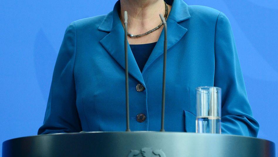 """Kanzlerin Merkel: """"Wir haben Aufklärungsbedarf"""""""