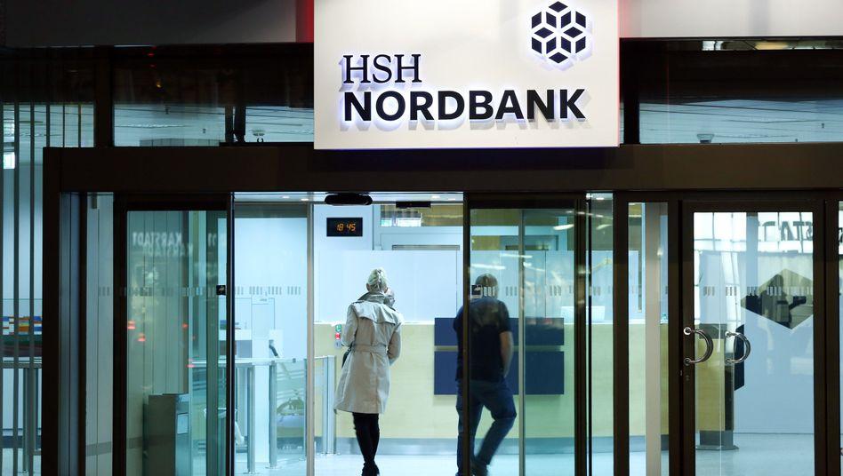 Die HSH Nordbank in Hamburg: Stabilisierungsmaßnahmen