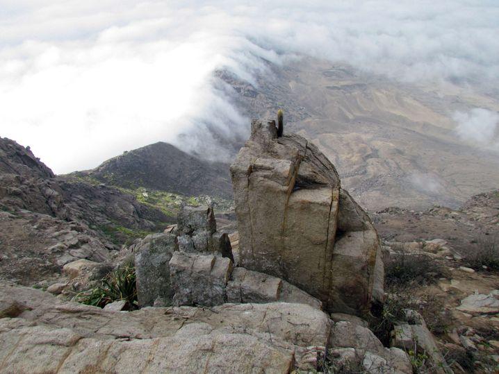 Moche-Altar: Ort der Opferung von Menschen