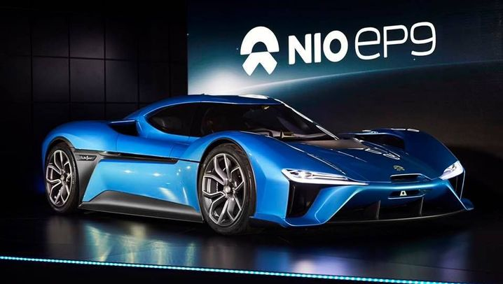 NextEV Nio EP9: Das ist der Nürburgring-Rekordhalter