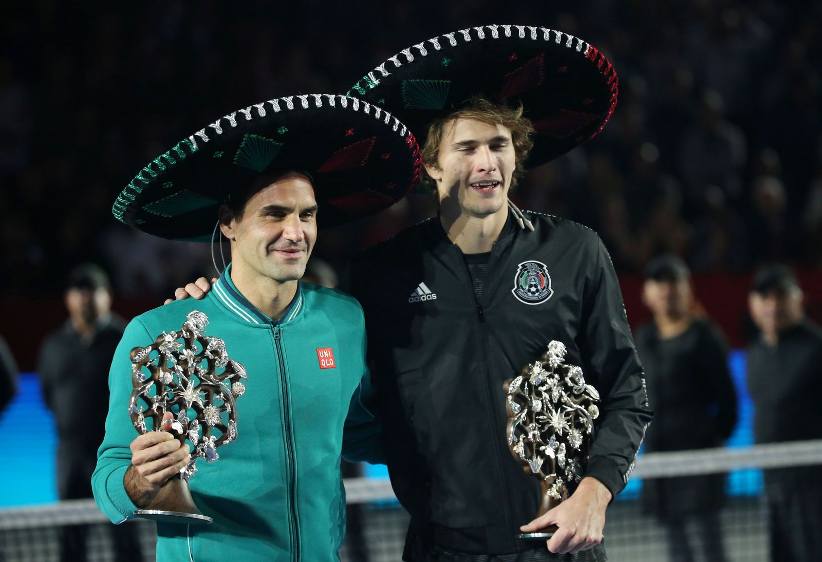 Mexico City Federer Zverev