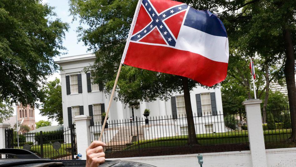 Flagge von Mississippi: Neue Version soll im November fertig sein