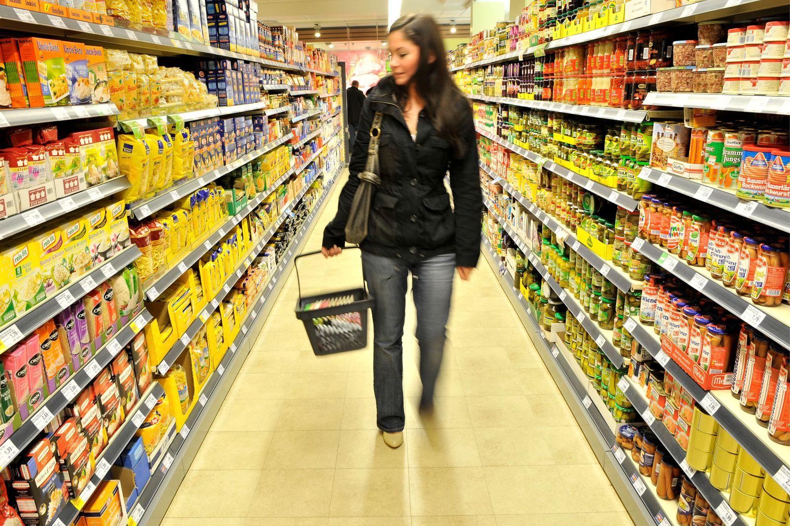NICHT VERWENDEN Kaisers / Supermarkt