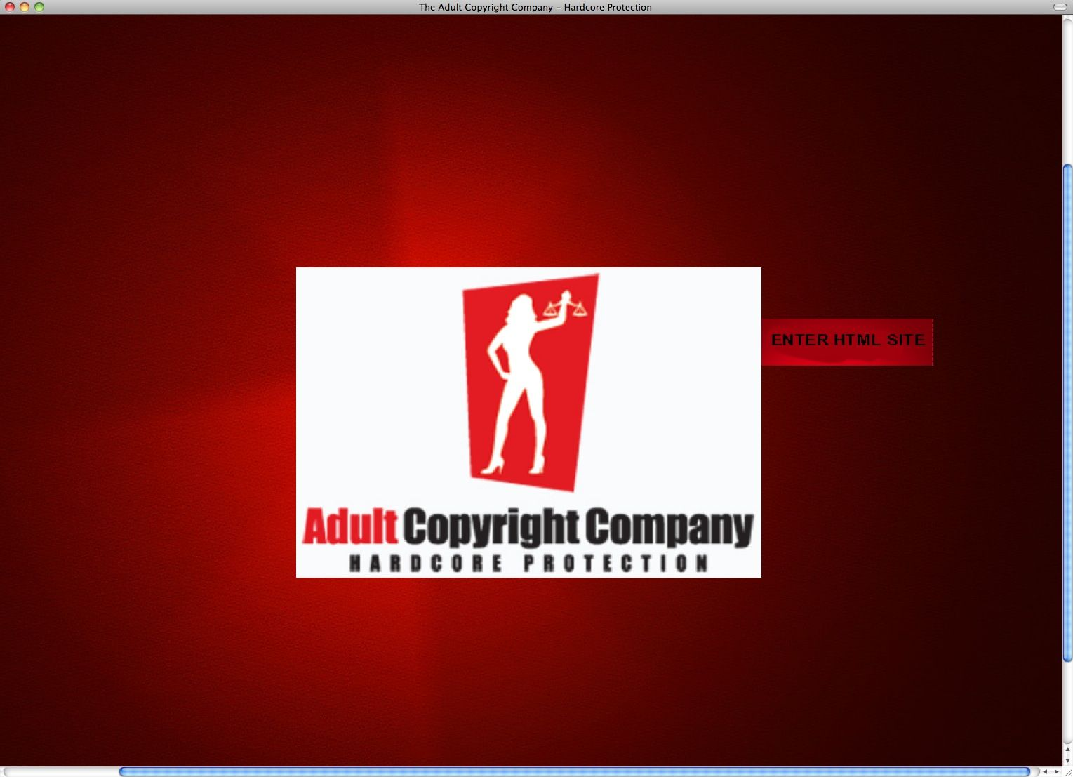 SCREENSHOT Adult Copyright Company