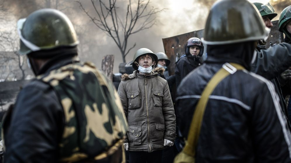Krise in der Ukraine: Banges Warten - dann der Durchbruch