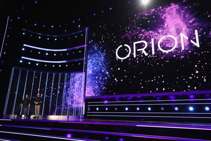 Vorstellung des Bethesda-Projekts Orion